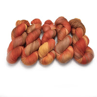 4 Ply Pure Australian Merino Wool Yarn Hand Dyed Sunrise 13060| 4 Ply Pure Merino Yarn | Sally Ridgway | Shop Wool, Felt and Fibre Online