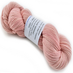4 Ply Pure Merino Wool Hand Dyed Yarn Pale Apricot Pink 12409| 4 Ply Pure Merino Yarn | Sally Ridgway | Shop Wool, Felt and Fibre Online