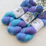 4 ply Supreme Sock Yarn Hand Dyed Blue Violet 12875| Sock Yarn | Sally Ridgway | Shop Wool, Felt and Fibre Online