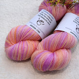 4 ply Supreme Sock Yarn Hand Dyed Fairy Dust 13255| Sock Yarn | Sally Ridgway | Shop Wool, Felt and Fibre Online