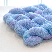 4 ply Supreme Sock Yarn Hand Dyed Icicle 13323| Sock Yarn | Sally Ridgway | Shop Wool, Felt and Fibre Online