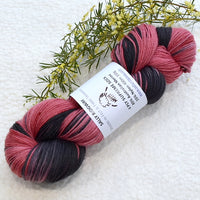 4 ply Supreme Sock Yarn Hand Dyed Mahogany Swirl 13287| Sock Yarn | Sally Ridgway | Shop Wool, Felt and Fibre Online