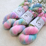 4 ply Supreme Sock Yarn Hand Dyed in Confetti 13113| Sock Yarn | Sally Ridgway | Shop Wool, Felt and Fibre Online