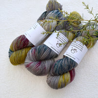 4 ply Supreme Sock Yarn Hand Dyed Smudge 13313| Sock Yarn | Sally Ridgway | Shop Wool, Felt and Fibre Online