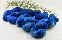 4 Ply Pure Merino Wool Yarn Hand Dyed Royal Blues 13199| 4 Ply Pure Merino Yarn | Sally Ridgway | Shop Wool, Felt and Fibre Online