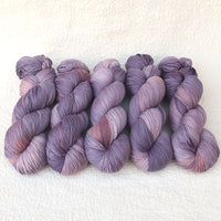 4 Ply Pure Merino Wool Yarn Hand Dyed Lavender Peach 13189| 4 Ply Pure Merino Yarn | Sally Ridgway | Shop Wool, Felt and Fibre Online