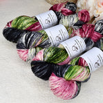 8 Ply DK Pure Merino Wool Yarn in Blackberry Rose| 8 ply Pure Merino Yarn | Sally Ridgway | Shop Wool, Felt and Fibre Online
