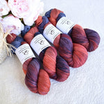 8 Ply DK Pure Merino Wool Yarn in Blue Flame| 8 ply Pure Merino Yarn | Sally Ridgway | Shop Wool, Felt and Fibre Online
