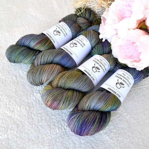 8 Ply DK Pure Merino Wool Yarn in Sea Monster| 8 ply Pure Merino Yarn | Sally Ridgway | Shop Wool, Felt and Fibre Online