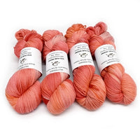 8 Ply DK Pure Merino Wool Yarn - Tangerine 12848| 8 ply Pure Merino Yarn | Sally Ridgway | Shop Wool, Felt and Fibre Online