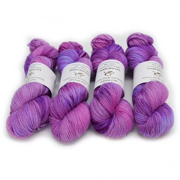 8 Ply DK Pure Merino Wool Yarn - Wild Berries 12856| 8 ply Pure Merino Yarn | Sally Ridgway | Shop Wool, Felt and Fibre Online