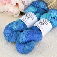 8 Ply Pure Merino Wool Yarn in Blue Opals 13046| 8 ply Pure Merino Yarn | Sally Ridgway | Shop Wool, Felt and Fibre Online