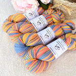 8 Ply Pure Merino Wool Yarn in Cantaloupe 13254| 8 ply Pure Merino Yarn | Sally Ridgway | Shop Wool, Felt and Fibre Online