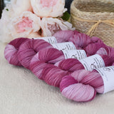 8 Ply Pure Merino Wool Yarn in Faded Roses 13053| 8 ply Pure Merino Yarn | Sally Ridgway | Shop Wool, Felt and Fibre Online