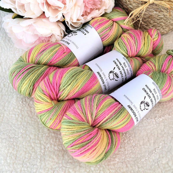 8 Ply Pure Merino Wool Yarn in Fairy Bread 13252| 8 ply Pure Merino Yarn | Sally Ridgway | Shop Wool, Felt and Fibre Online