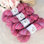 8 Ply Pure Merino Wool Yarn in Pink Daisy 13253| 8 ply Pure Merino Yarn | Sally Ridgway | Shop Wool, Felt and Fibre Online