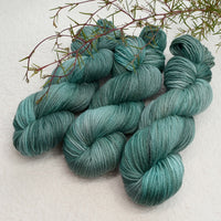 8 Ply Pure Merino Wool Knitting Yarn Hand Dyed Dusty Teal 12800| 8 ply Pure Merino Yarn | Sally Ridgway | Shop Wool, Felt and Fibre Online