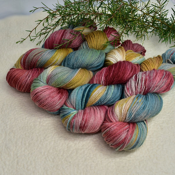 8 Ply DK Pure Merino Wool Yarn in Retro 13355| 8 ply Pure Merino Yarn | Sally Ridgway | Shop Wool, Felt and Fibre Online