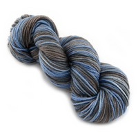 8 Ply Pure Merino Wool Knitting Yarn Mill Spun Blue Grey Brown 12425| 8 ply Pure Merino Yarn | Sally Ridgway | Shop Wool, Felt and Fibre Online