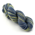 8 Ply Pure Merino Wool Mill Spun Hand Dyed Yarn Blue Green Mix 12421| 8 ply Pure Merino Yarn | Sally Ridgway | Shop Wool, Felt and Fibre Online