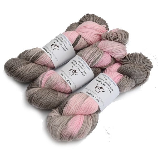 8 Ply Pure Merino Wool Yarn in Sweet Pea 13049| 8 ply Pure Merino Yarn | Sally Ridgway | Shop Wool, Felt and Fibre Online