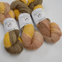 8 Ply Pure Merino Wool Yarn in Turmeric 13048| 8 ply Pure Merino Yarn | Sally Ridgway | Shop Wool, Felt and Fibre Online