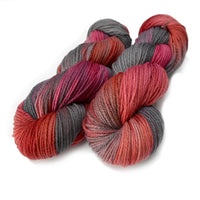8 Ply Pure Merino Wool DK Yarn in Hot Coals 13010| 8 ply Pure Merino Yarn | Sally Ridgway | Shop Wool, Felt and Fibre Online