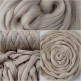 Faun Merino and Corriedale Blend Combed Wool Top| Mill Blend | Sally Ridgway | Shop Wool, Felt and Fibre Online