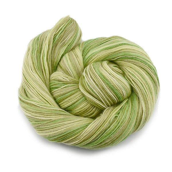 Alpaca Yarn Hand Dyed Knitting Yarn Soft Green Mix 4 Ply 12575| 4 Ply Alpaca Yarn | Sally Ridgway | Shop Wool, Felt and Fibre Online
