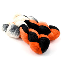 Sock Yarn 4 Ply Australian Merino Wool Knitting Yarn Hand Dyed Halloween 12881| Sock Yarn | Sally Ridgway | Shop Wool, Felt and Fibre Online