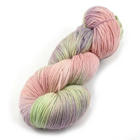 Sock Yarn 4 Ply Australian Merino Wool Knitting Yarn Hand Dyed Pastel Rose 12884| Sock Yarn | Sally Ridgway | Shop Wool, Felt and Fibre Online