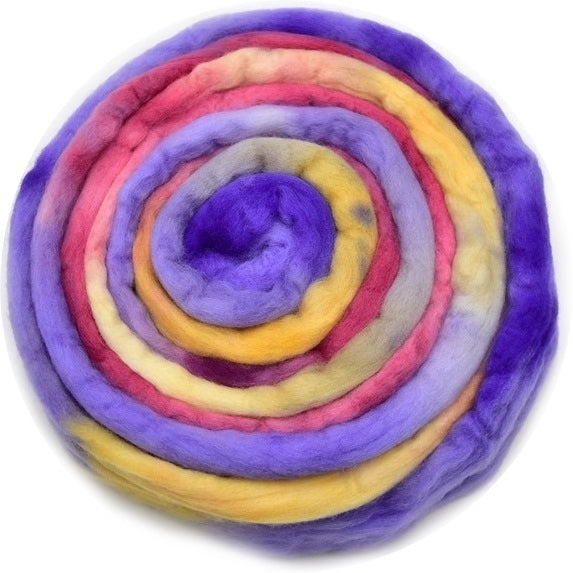 Australian Merino Wool Roving Combed Top Hand Dyed Mexican 12769| Merino Wool Tops | Sally Ridgway | Shop Wool, Felt and Fibre Online