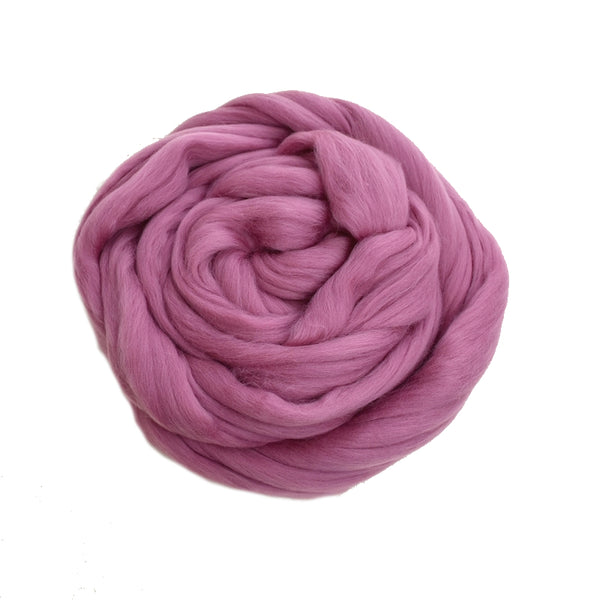 DHG Merino Wool Top - Roving - Orchid| DHG Wool Tops | Sally Ridgway | Shop Wool, Felt and Fibre Online