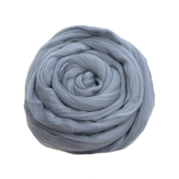 DHG Merino Wool Top - Roving - Wolf| DHG Wool Tops | Sally Ridgway | Shop Wool, Felt and Fibre Online