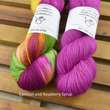4 ply Supreme Sock Yarn Hand Dyed Carnival 13203| Sock Yarn | Sally Ridgway | Shop Wool, Felt and Fibre Online