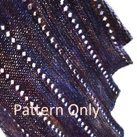Spiral Staircase Shawl Knitting Pattern| Knitting Pattern | Sally Ridgway | Shop Wool, Felt and Fibre Online