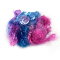 Firestar Fibre Hand Dyed Trilobal Nylon Pink Blue Mix 12615| Firestar Fibre | Sally Ridgway | Shop Wool, Felt and Fibre Online