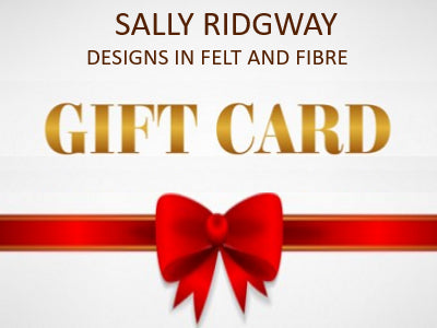 Gift Cards - From| Gift Card | Sally Ridgway | Shop Wool, Felt and Fibre Online