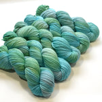 8 Ply Pure Merino Wool DK Yarn in Green Opals 13034| 8 ply Pure Merino Yarn | Sally Ridgway | Shop Wool, Felt and Fibre Online