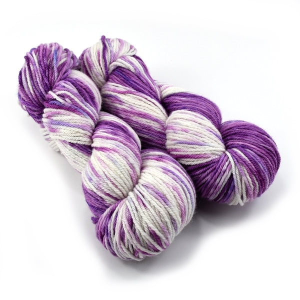8 Ply Pure Merino Wool Yarn - Berries and Cream 12893