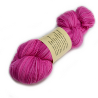 Hand Dyed 4 Ply Baby Alpaca Yarn Pink Mix 4 Ply 12241| 4 Ply Alpaca Yarn | Sally Ridgway | Shop Wool, Felt and Fibre Online