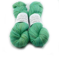 Hand Dyed Baby Alpaca Yarn 4 Ply in Turquoise Green 12743| 4 Ply Alpaca Yarn | Sally Ridgway | Shop Wool, Felt and Fibre Online