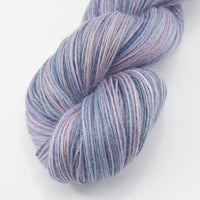 Hand Dyed Baby Alpaca Knitting Yarn 4 Ply Fingering Weight in dusty pink and purple 12742| 4 Ply Alpaca Yarn | Sally Ridgway | Shop Wool, Felt and Fibre Online