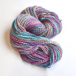 Chunky Hand Spun Yarn Tasmanian Superwash Merino Wool Floral Garden 12918| Hand Spun Yarn | Sally Ridgway | Shop Wool, Felt and Fibre Online