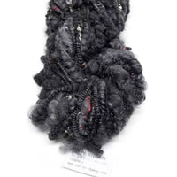 Hand Spun Australian Merino Wool Chunky Art Yarn in Black 12724| Hand Spun Yarn | Sally Ridgway | Shop Wool, Felt and Fibre Online