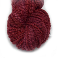 Hand Spun Australian Merino Wool Chunky Art Yarn in Red 12738| Hand Spun Yarn | Sally Ridgway | Shop Wool, Felt and Fibre Online
