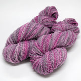 Hand Spun Australian Merino Wool Chunky Yarn in Soft Raspberry 12920| Hand Spun Yarn | Sally Ridgway | Shop Wool, Felt and Fibre Online