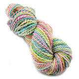 Hand Spun Superwash Merino Wool Chunky Yarn in Soft Rainbow 13209| Hand Spun Yarn | Sally Ridgway | Shop Wool, Felt and Fibre Online