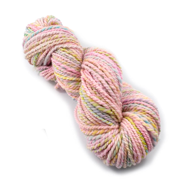 Hand Spun Superwash Merino Wool Chunky Yarn in Marshmallow 13132| Hand Spun Yarn | Sally Ridgway | Shop Wool, Felt and Fibre Online