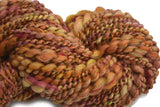 Chunky Hand Spun Merino Wool Art Yarn in Cinnamon 12990| Hand Spun Yarn | Sally Ridgway | Shop Wool, Felt and Fibre Online